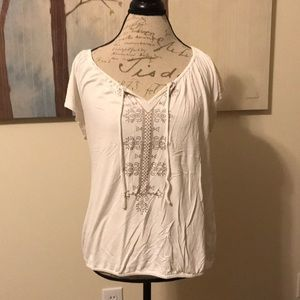 {Old Navy} Embroidered Blouse